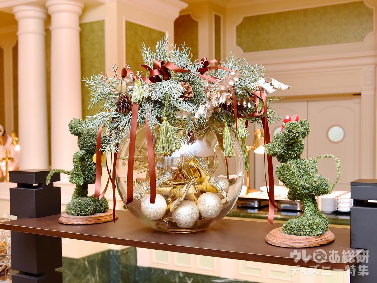 ディズニーホテル】クリスマスらしさ抜群! 色あざやかなホテルブッフェ