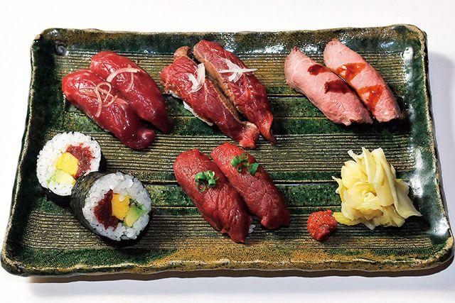 生肉のお店・厳選!/【渋谷】肉寿司 福来る盛り合わせ 2200円