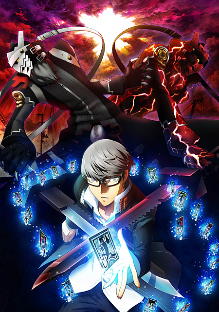 「PERSONA4 the Animation -the Factor of Hope-」キービジュアル