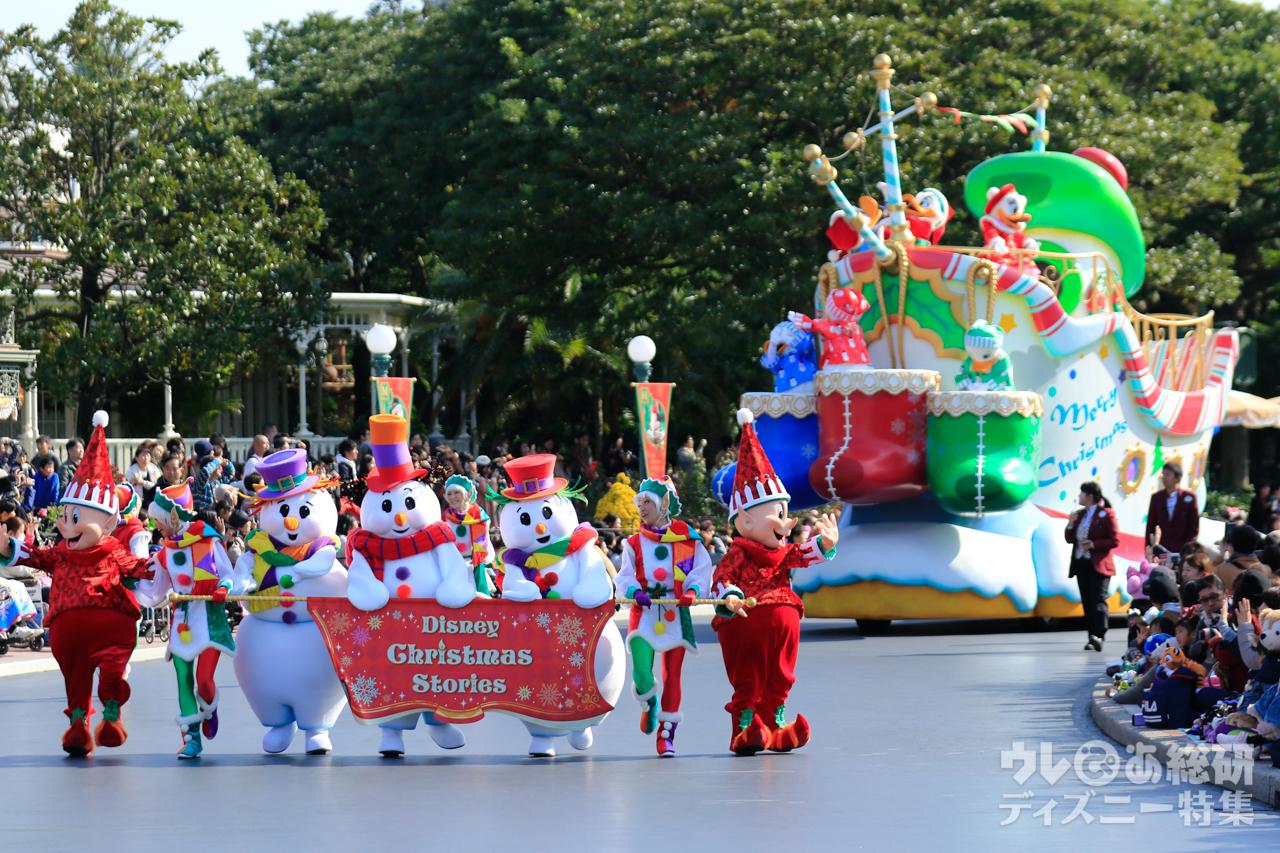 全フロート紹介! tdl「ディズニー・クリスマス・ストーリーズ」(2016