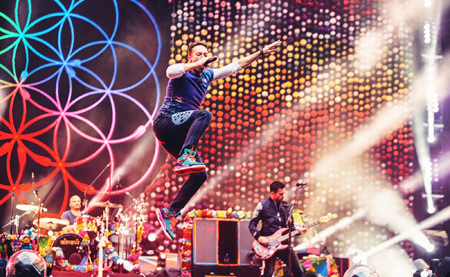 COLDPLAY Photo by Sam Neill