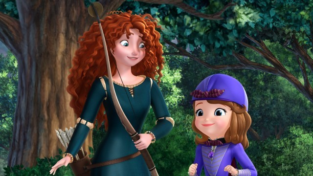 PRINCESS MERIDA, PRINCESS SOFIA