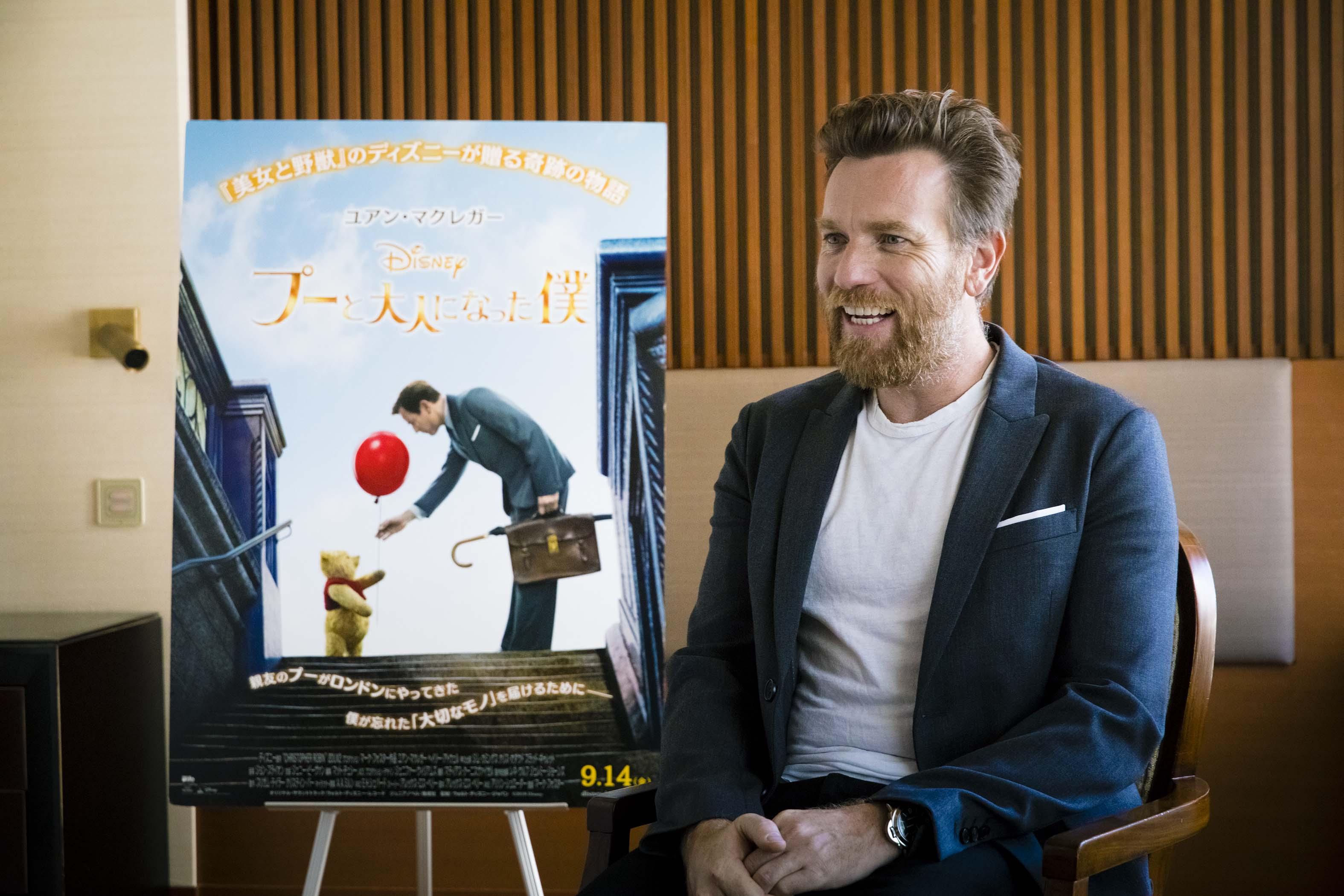 【プー僕】名優ユアン・マクレガーが語る\u201cプーとクリストファーの関係\u201d 『プーと大人になった僕』インタビュー(写真 6/8)