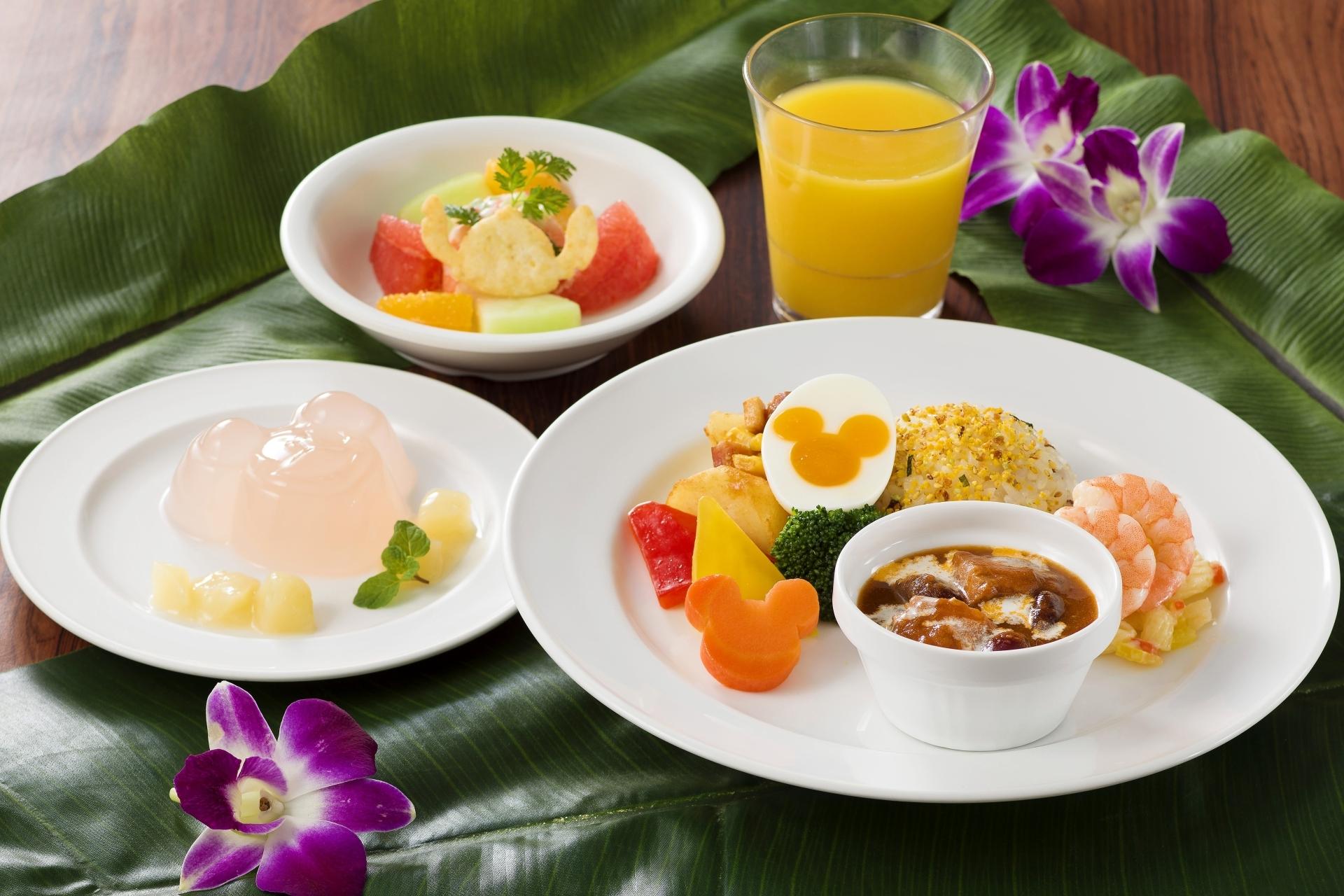 ポリネシアン レストラン メニュー