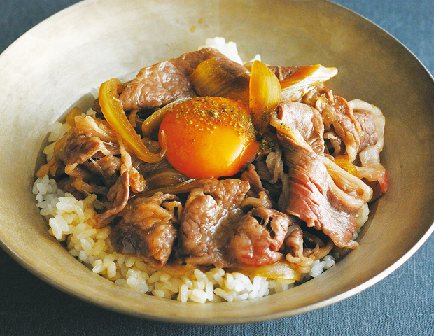肉】5分でできる! 超簡単&激うま「牛丼」の作り方 , うまい肉