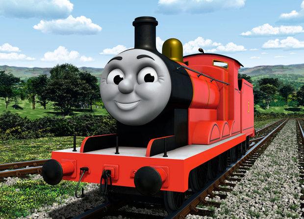 トーマスの友達ジェームス