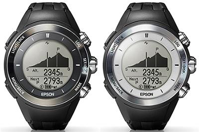 e125b4c023 「MZ-500B」(左)と「MZ-500S」. エプソンは、「WristableGPS ...