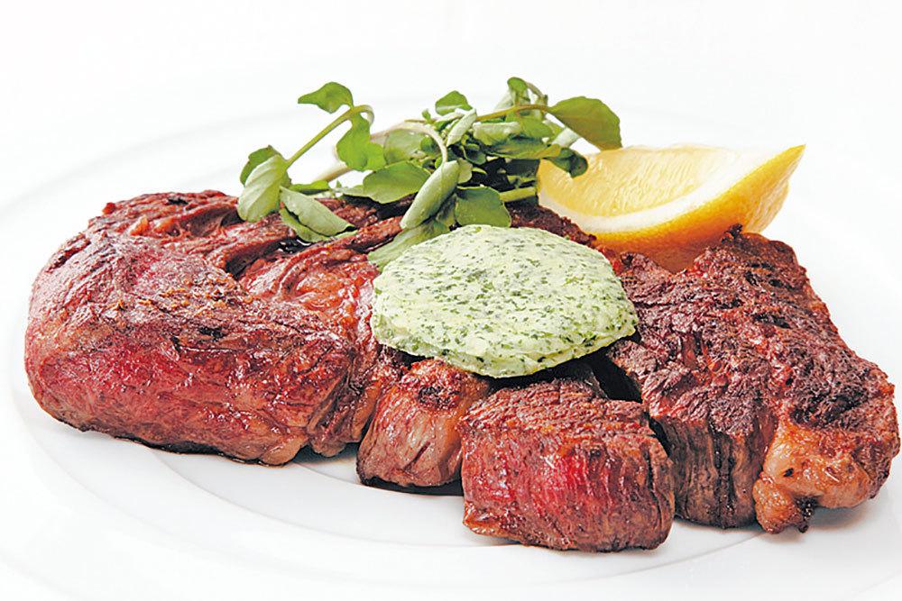 【渡辺橋】Wine Kitchen Souple 29 アンガス牛のアメリカンステーキ 4,104円