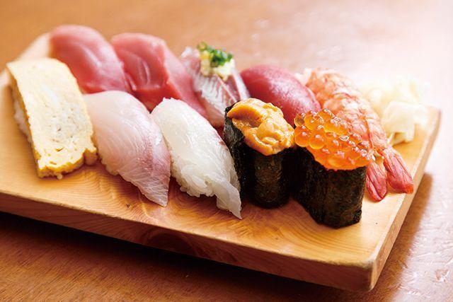 神奈川・小田原漁港の絶品魚/寿司定食 いこい いこいにぎり—2000円