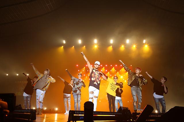 "「2016 JYP NATION CONCERT ""MIX & MATCH"" IN JAPAN」@東京・国立代々木競技場 第一体育館"