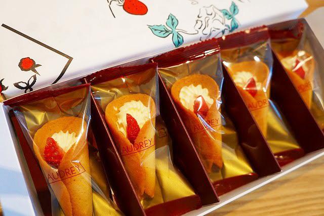 オードリーの一番人気の焼菓子「グレイシア」