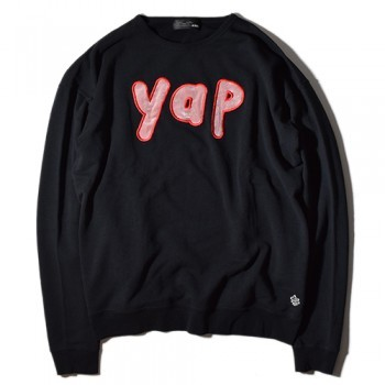 """YAP BigSweat"" ¥13,800- without/tax"
