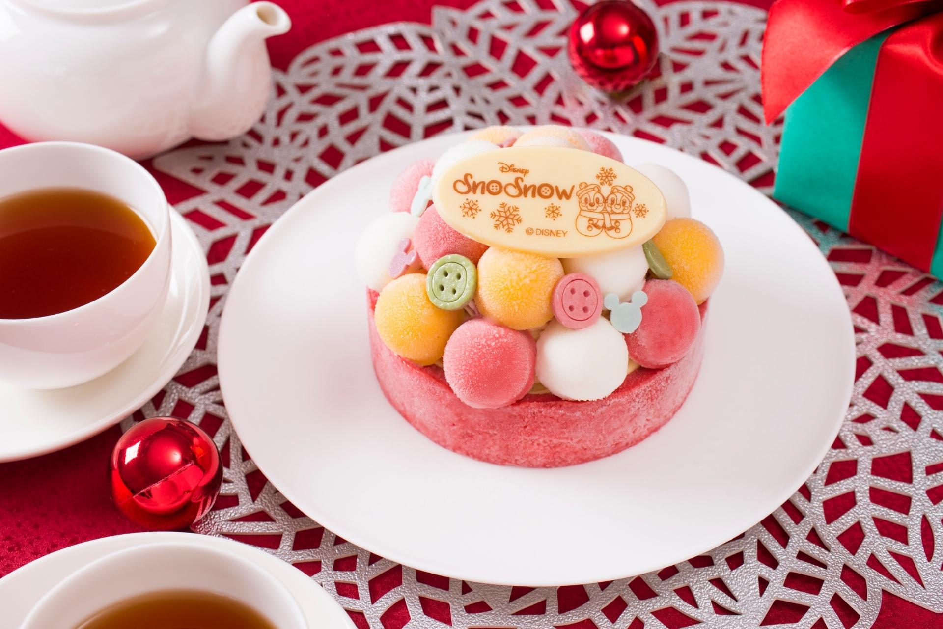tdr】ディズニークリスマス限定アイスケーキが自宅に届く! スノー