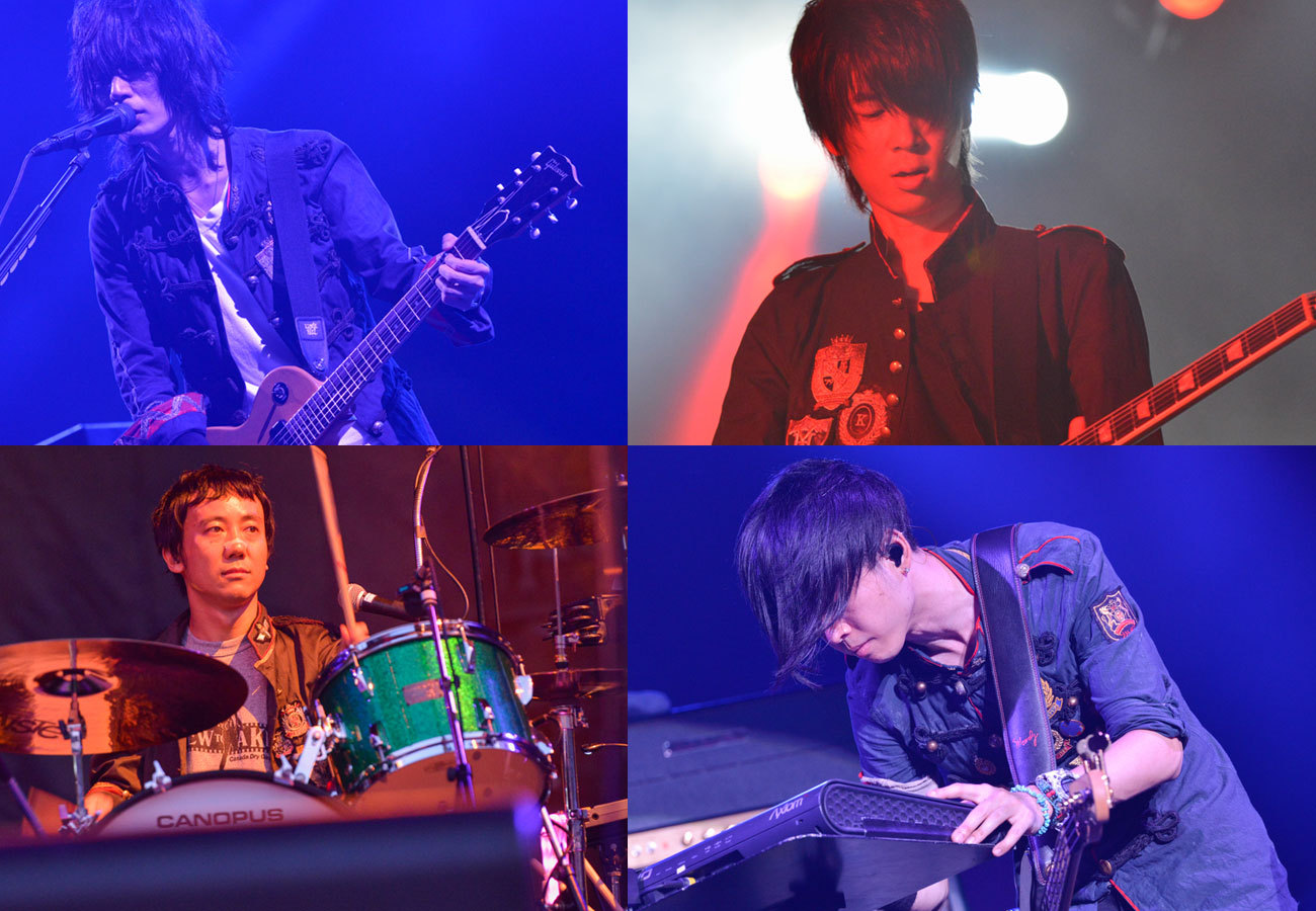 bump of chicken4人