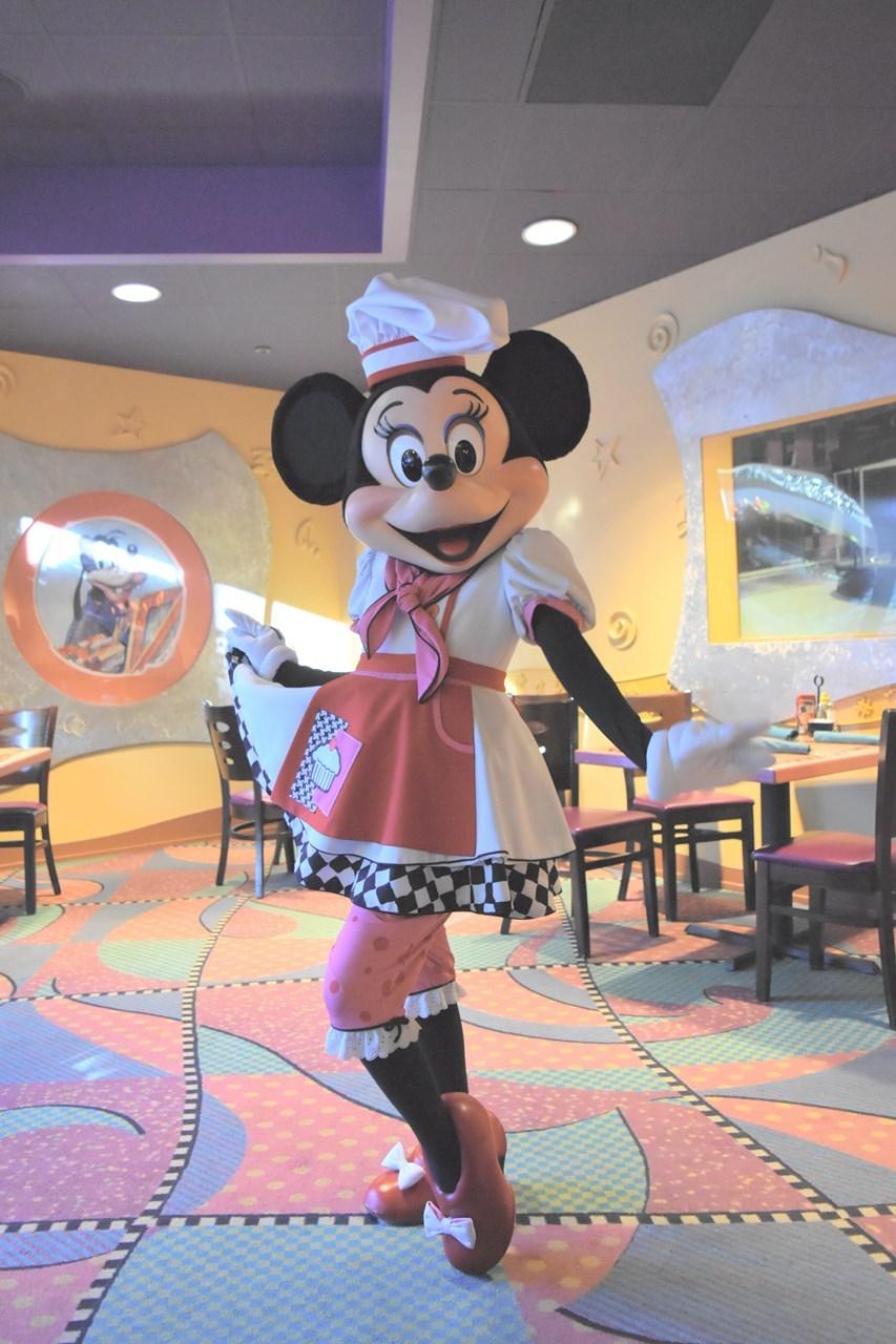 キュートなミニーちゃんに出会えるグーフィーズキッチン