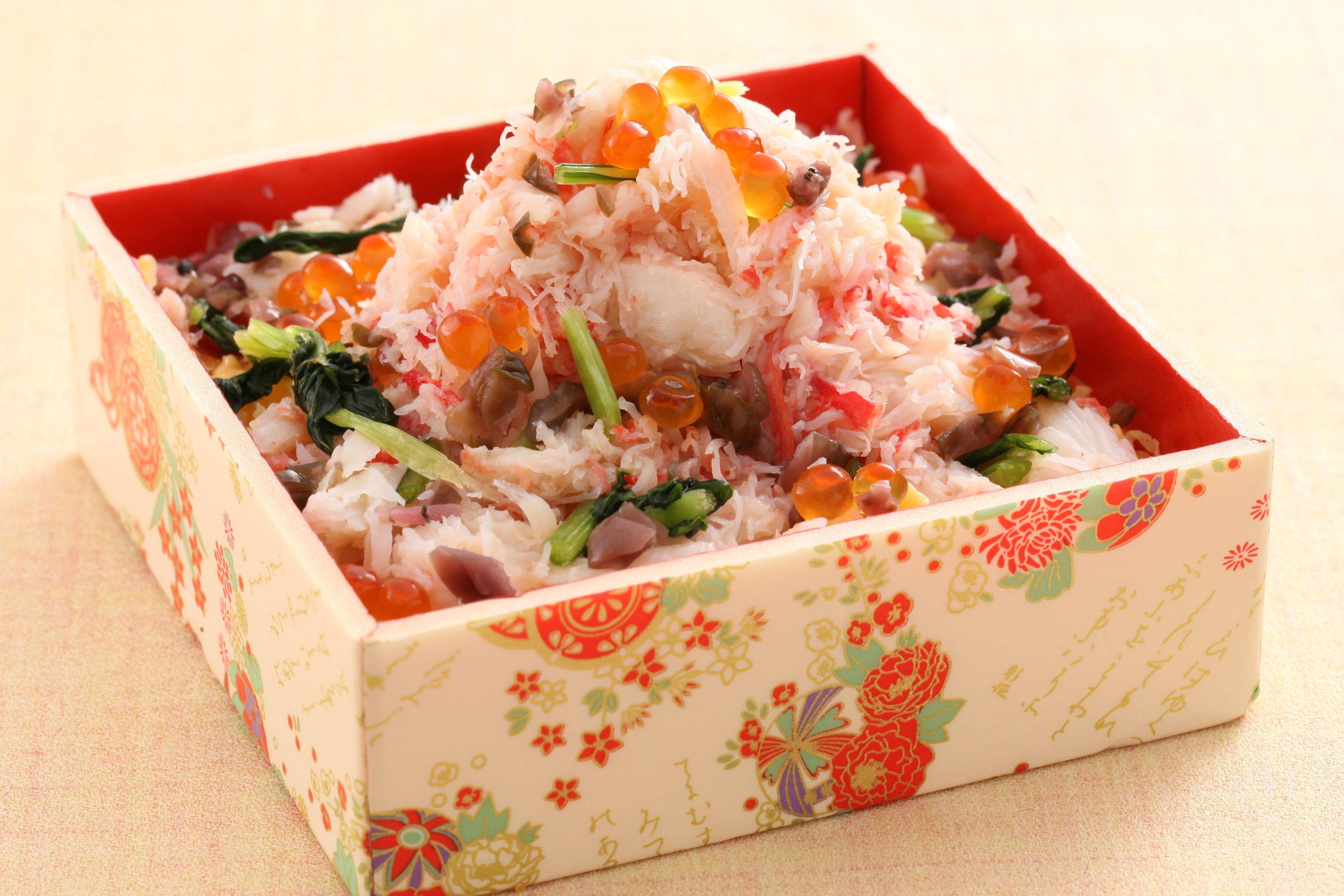 廻転寿司 CHOJIRO京都(京都府) 蟹と京漬物のばら寿司