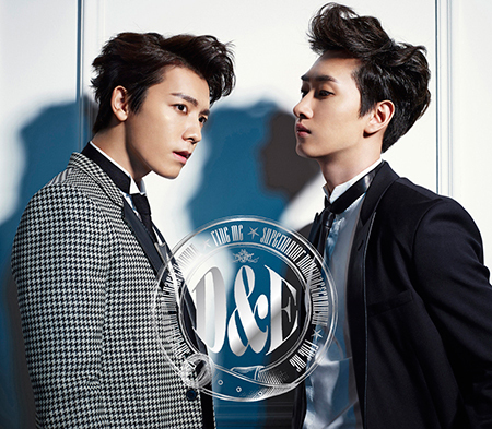 SUPER JUNIOR DONGHAE&EUNHYUK日本初アルバム『RIDE ME』CD+DVD盤初回