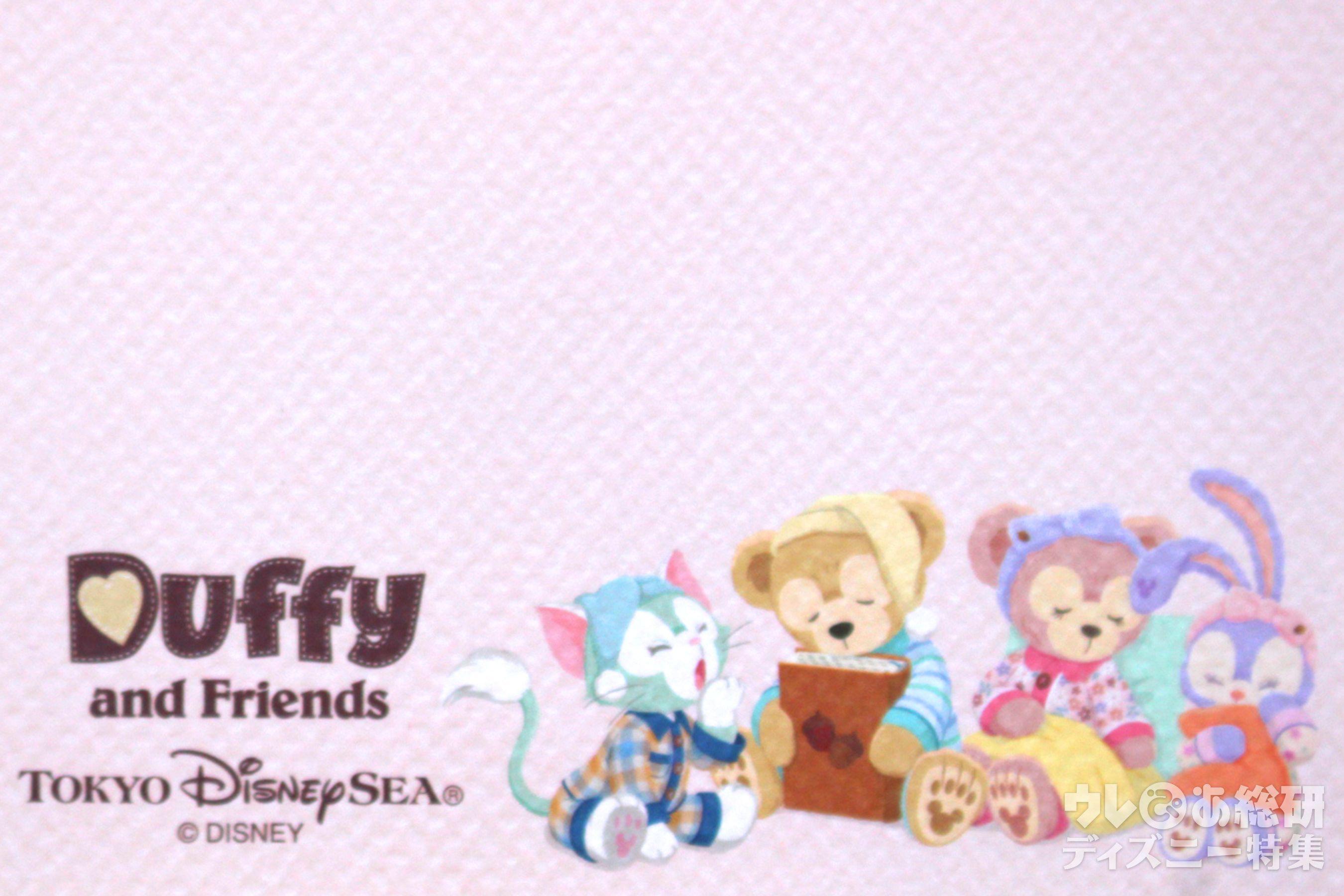 えっ 無料なの ダッフィー フレンズ 公式18カレンダー壁紙をダウンロードしちゃおう 写真 11 14 ディズニー特集 ウレぴあ総研