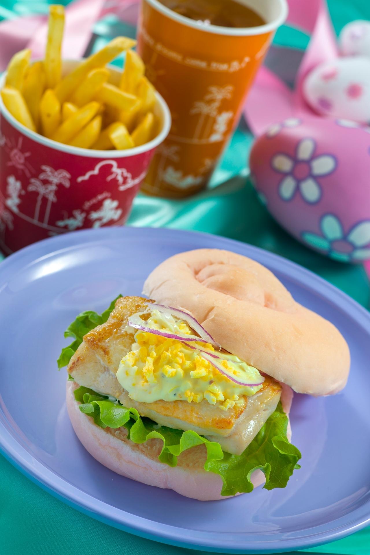 「セバスチャンのカリプソキッチン」  スペシャルセット 990 円 ディズニー・イースター 東京ディズニーシー
