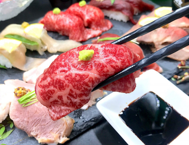 肉 寿司 食べ 放題 秋葉原 肉寿司【公式】