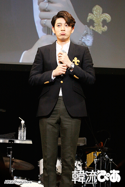 SE7EN(セブン) 「SE7ENプレミアムトークイベントin TOKYO」@東京・豊洲PIT