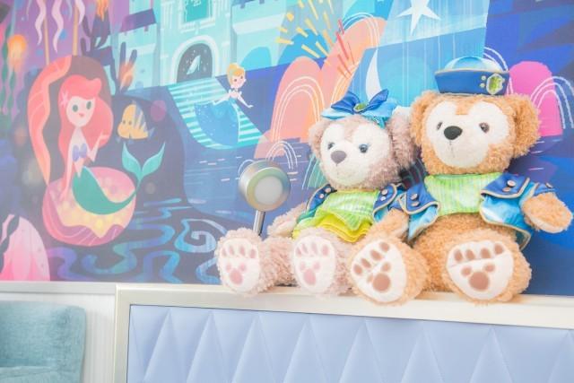 新ディズニーホテルにダッフィーとおでかけ ホテル内の可愛すぎフォトスポット 写真24枚 2 2 ディズニー特集 ウレぴあ総研