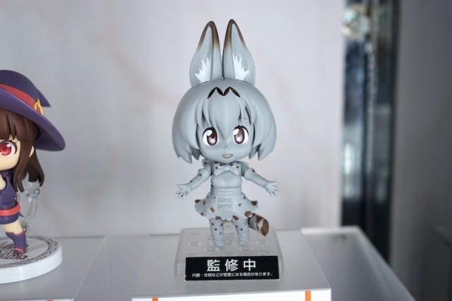アニメ『けものフレンズ』に登場するキャラクター「サーバル」をデフォルメ姿で立体化したフィギュア「ねんどろいど サーバル」の原型が公開されました。