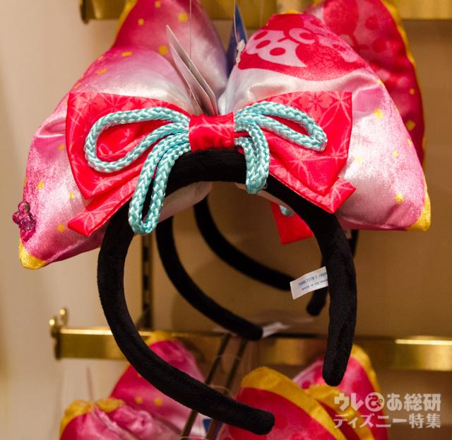 カチューシャ ¥1,800|東京ディズニーランド2016年「ディズニー夏祭り」スペシャルグッズ