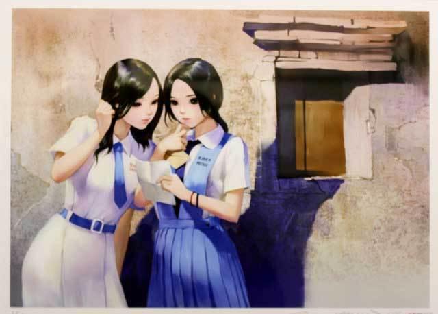 『「制服至上・制服至上2―台湾女子高生制服選―」出版記念 蚩尤個展』