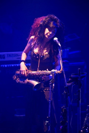 "MORRIE Solo Live 2015 ""HARD CORE REVERIES""2DAYS  yukarie(Sax, Cho)"