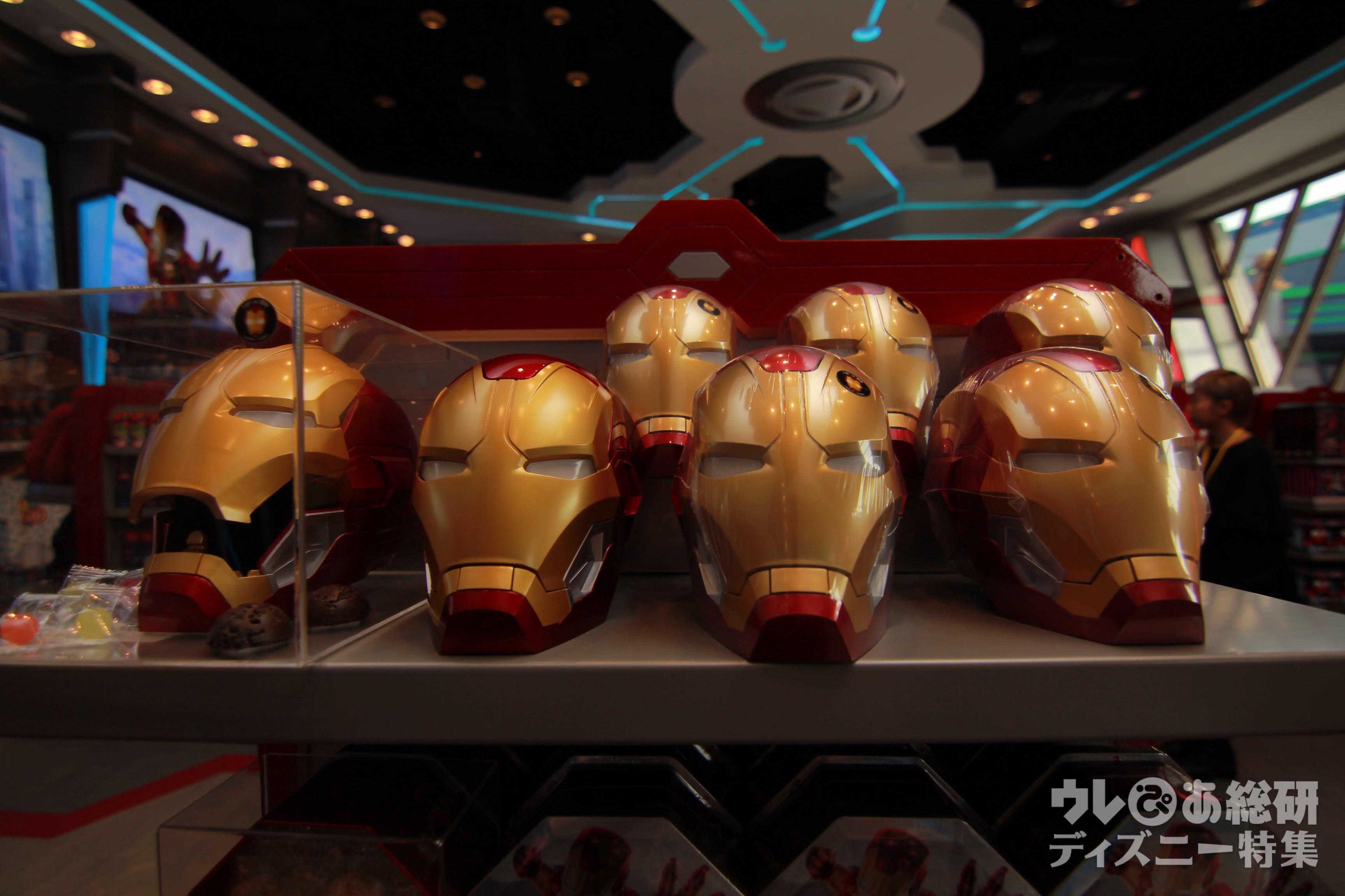 香港ディズニー】スーパーヒーロー着地で登場! アイアンマンと