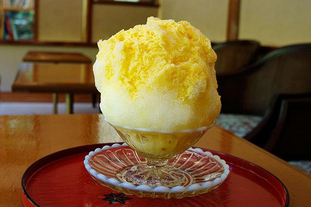 玉氷/マンゴーレモンミルク 800円