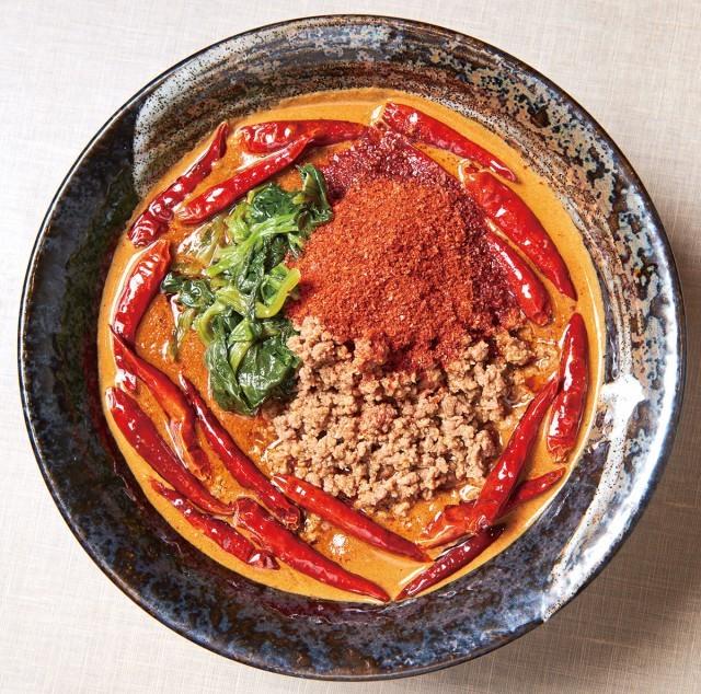 地獄の担担麺 無限マックスステージ(?辛) 1100円 地獄の担担麺 護摩龍 五反田