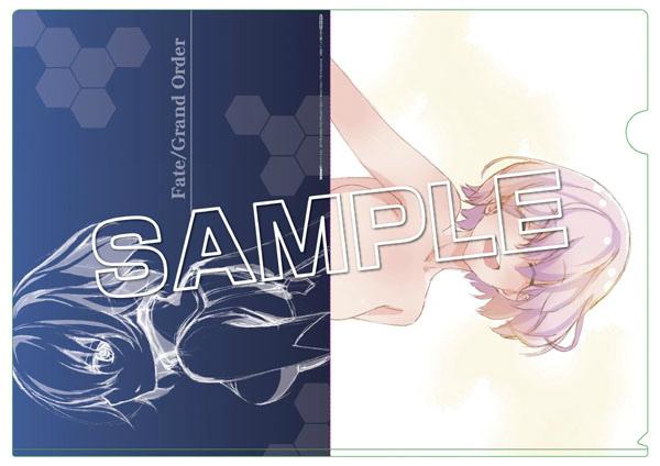文教堂/アニメガ特典 『Fate/Grand Order』OP原画A4クリアファイル