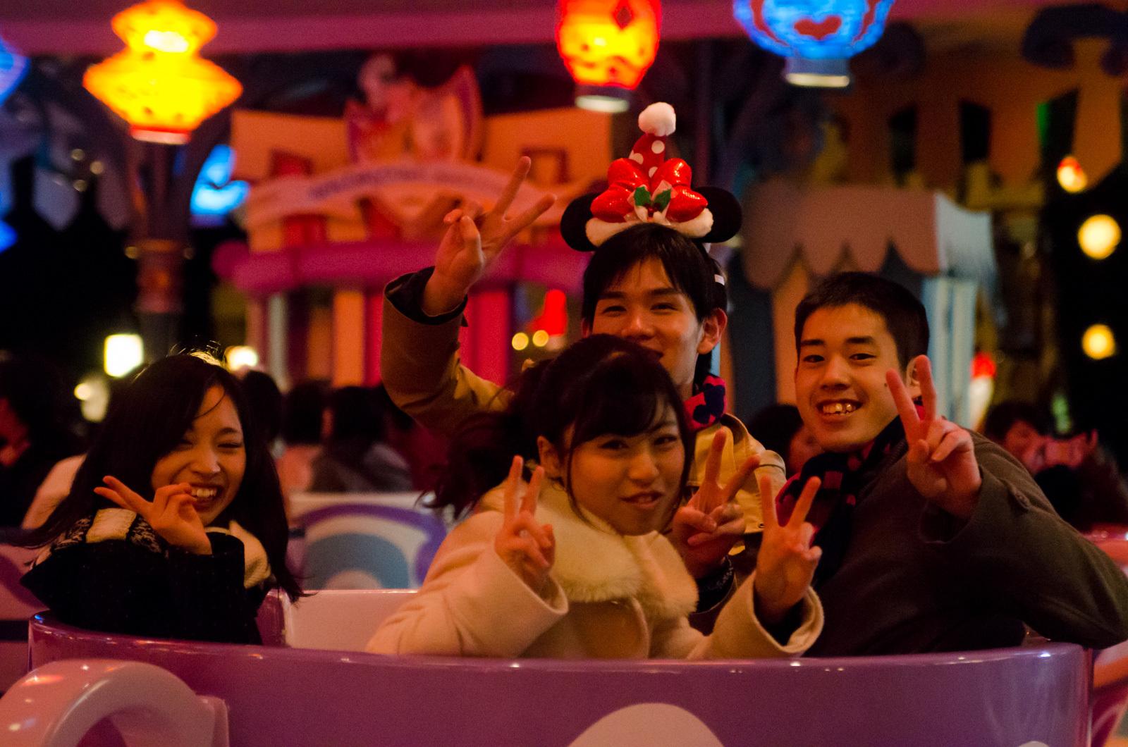 閉園後の東京ディズニーランドにキャスト約1万6000人が集結
