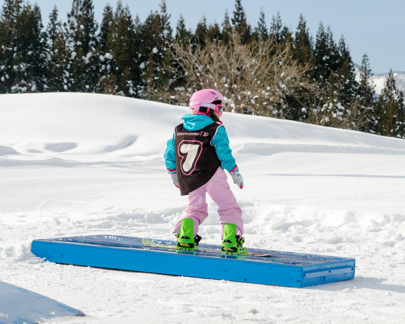 なかなか上手!|スノーボードスクールSTEP7舞子校
