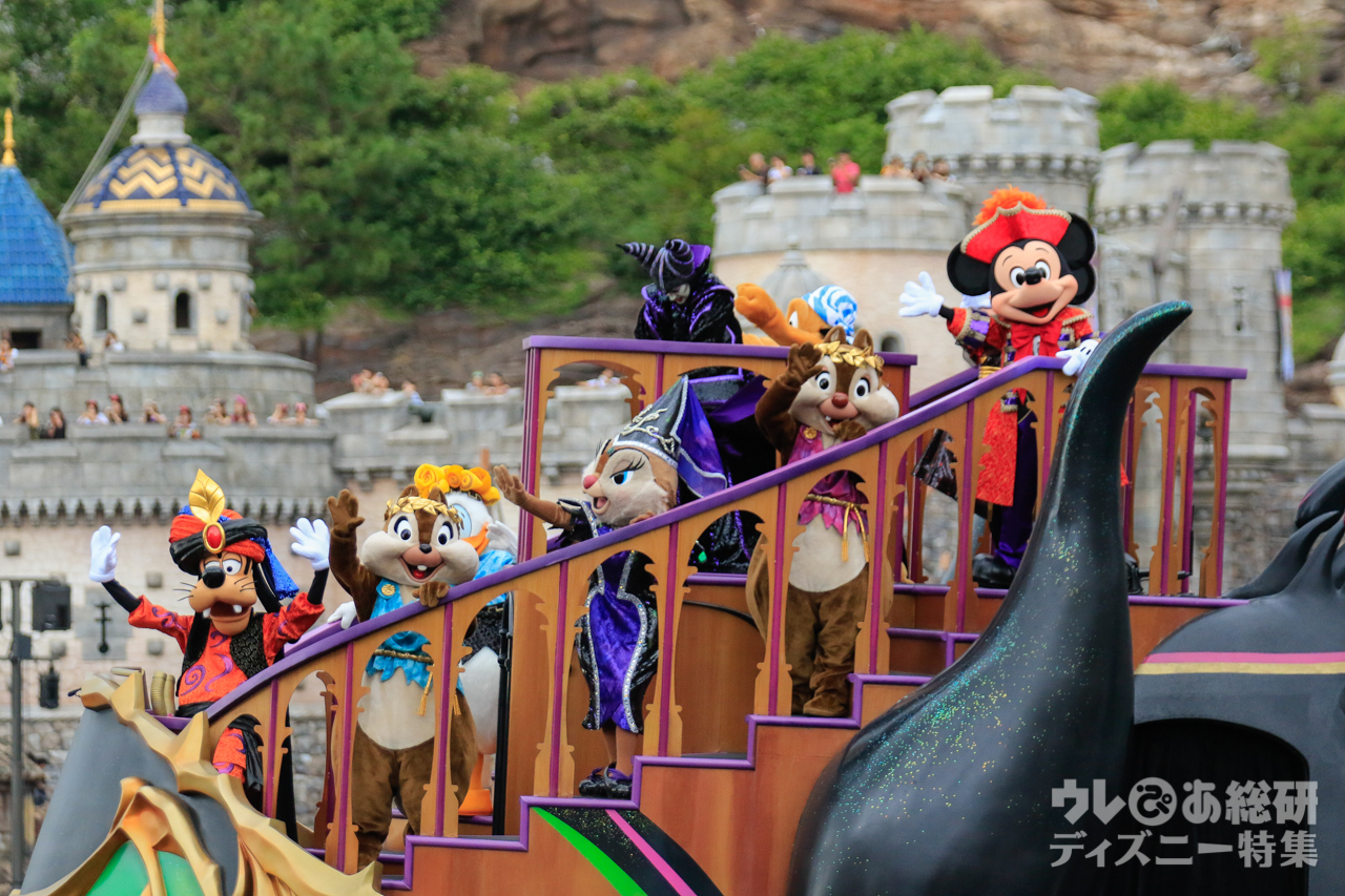 東京ディズニーリゾートでは「ディズニー・ハロウィーン」を開催中