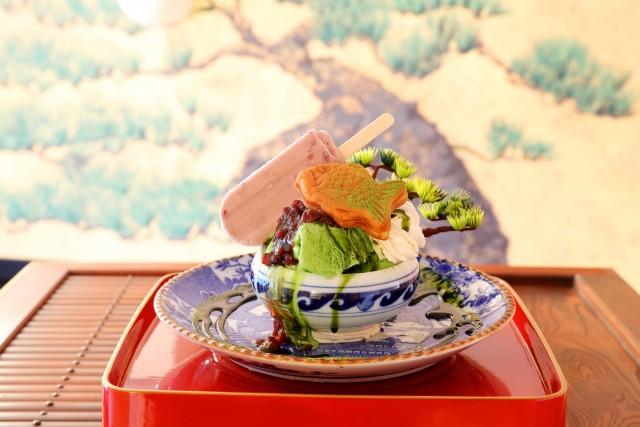 """【美スイーツ】日本文化をパフェで再現「鶴亀樓」の""""盆栽パフェ""""、鑑賞してたら溶けちゃうぞ♪"""