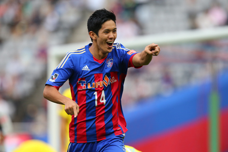 武藤嘉紀(FC東京) (C)J.LEAGUE PHOTOS