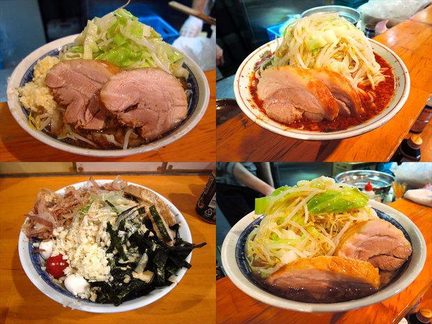 【ラーメン】二郎インスパイア系の注目店!『豚星。』人気メニュー4種食べくらべレポ
