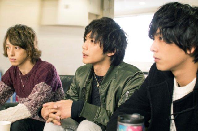 (左から)杉江大志、久保田秀敏、黒羽麻璃央