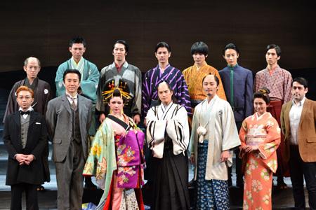 舞台『最後のサムライ』記者会見の模様 現在、東京・天王洲 銀河劇場で上演中の舞台『最後のサムライ