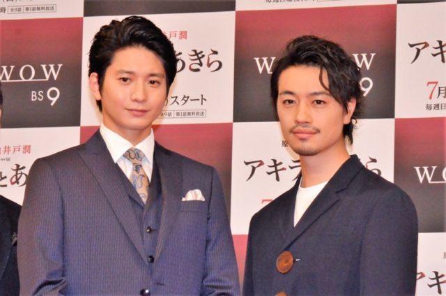 ダブル主演した向井理(左)と斎藤工