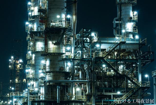 絶景! 工場萌えにはたまらない美しすぎる「工場夜景」