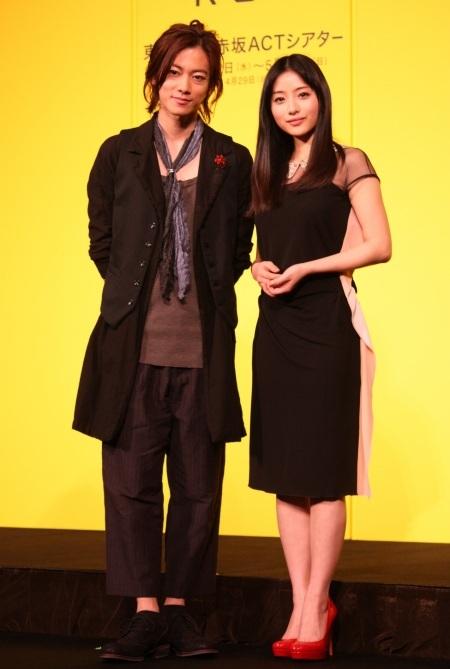 『ロミオ&ジュリエット』製作発表より 佐藤健、石原さとみ  『ロミオ ジュリエット』製作